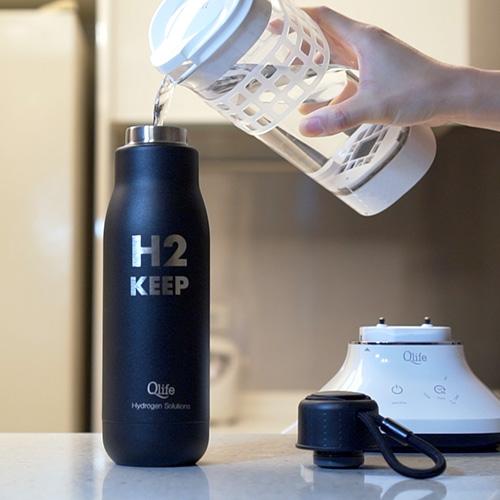 store molecular hydrogen water in keep