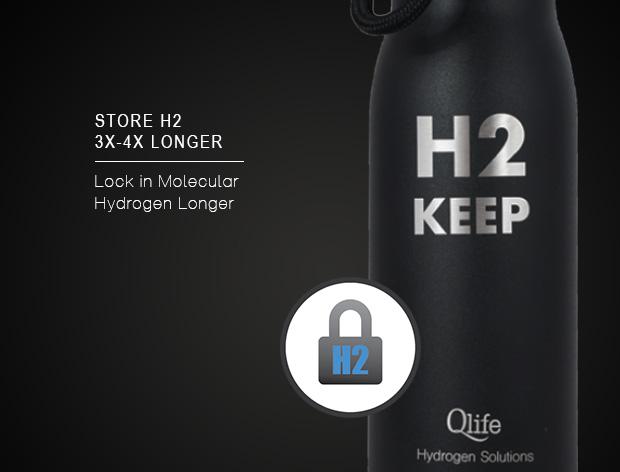 h2 keep stores molecular hydrogen longer