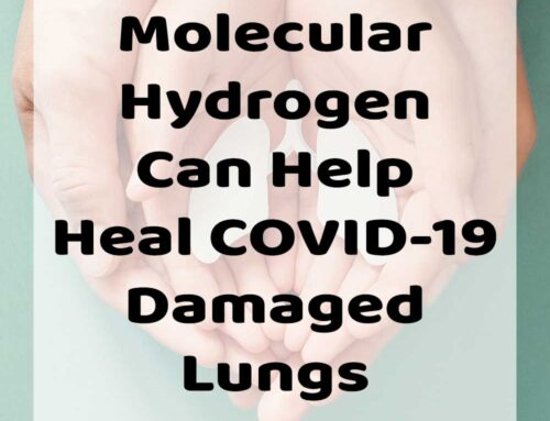 Molecular Hydrogen can help heal COVID-19 damaged lungs